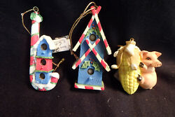 Charming Tails old Ornaments 3quot; tall
