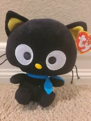 Chococat 6 Plush, Sanrio, Ty Beanie Babies, 2010, W/swing Tag, Collectable