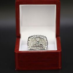 Russell Wilson 2013 Seattle Seahawks Custom Super Bowl Ring WITH Wooden Box $19.73