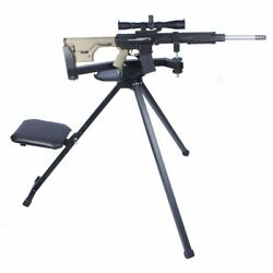 Tactical Ground Hog Shooting Bench