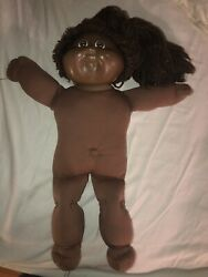 1983 Original Appalachian Artwork African American Cabbage Patch Kid Doll Coleco