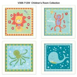 Childrens Room Collection By Annie Lapoint Printed Wall Art Wood Multi-color