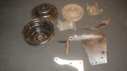 1969-1975 Chevrolet 307-350 Engine Pulley And Bracket Set
