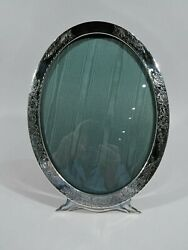 Antique Frame - 432 - Picture Photo Oval Art Nouveau - American Sterling Silver