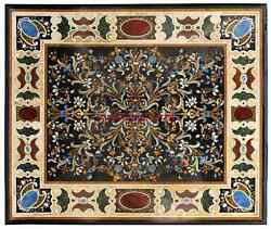 Inlay Marble Dining Corner Side 4and039x4and039 Table Top Livining Room Decor Furse
