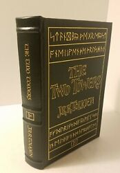 The Two Towers By Jrr Tolkien Easton Press 1984 With Map Of Middle Earth