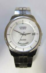 Citizen Exceed 30th Anniversary Limited Color Eco Drive Date Menand039s Watch Wl9984