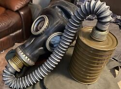 1 Soviet Russian Military Pmg Gp5 Gas Mask Nuclear, Biological, Chemical New
