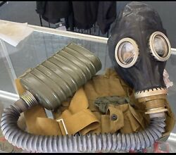 1. Soviet Russian Military Pmg2 / Gp5 Gas Mask Nuclear, Biological, Chemical
