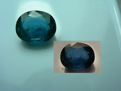 Very Rare Color Shift Chrome Kyanite Teal Blue Purple Natural India Gem 3.99ct