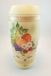 Fenton 12 Vase Hp By Michelle Kibbe 2 Of 3 Country Fruit