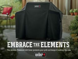 Weber 7130 3 Burner Premium Gas Grill Cover - 44.5 X 58 X 25 Inches