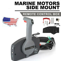 Marine Side Mount Remote Control Box For Yamaha 10 Pins Outboard 703-48207-22-00