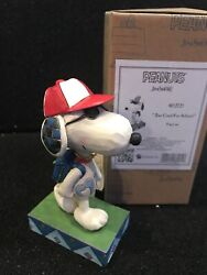 Jim Shore Peanuts Too Cool for School Snoopy as Joe Cool 4052725 New In Hand $24.99