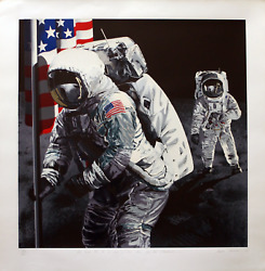 Sandra Lawrence One Small Step For A Man - One Giant Leap For Mankind 15 Color