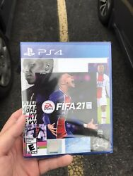 FIFA 21 Standard Edition PS4 Brand New Factory Sealed