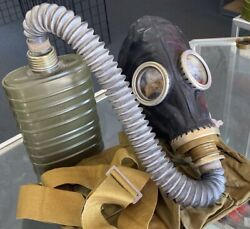 Soviet Russian Military Pmg2 / Gp5m Gas Mask Nuclear, Biological, Chemical New