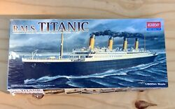 Rms Titanic Academy Hobby Model Ship Kit Game Toy Sz. 1600 - New/ Open Box
