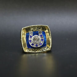 1970 Baltimore Colts Super Bowl Championship Ring With Box Colts Ring With Box
