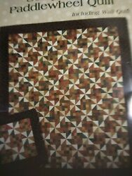 Quilt Kit Thimbleberries Scrap Patch Paddlewheel Quilt Pattern And Fabric 78 X 90