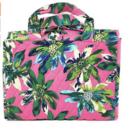 Vera Bradley Hanging Cosmetic Organizer Quilted Cotton Tropical Paradise NWT $54.99