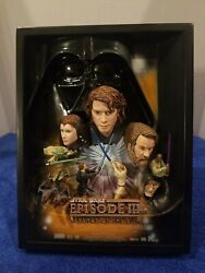 Star Wars Movie Poster Collection Sculpture Revenge Of The Sith