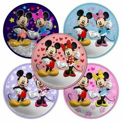 Niue 2020 - Mickey Minnie - Valentineand039s Day - Love - Set 5 X 2 Silver Coins