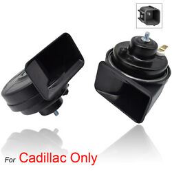 XUKEY Snail Horn High Low Pitch Loud For Cadillac ATS CTS XTS Escalade 410 510Hz