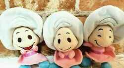 Disney Store Japan Alice In Wonderland Baby Young Oyster Plush Doll Set Used