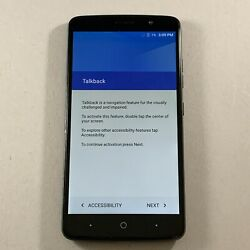 New Other Zte Max Xl 16gb Black N9560 Virgin Mobile 4g Lte Android Smartphone