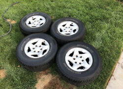 """16"""" Stock Toyota Rims And Michelin Tires. Lug Nuts And Tire Lock Included."""