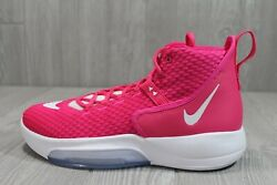 57 2019 Nike Zoom Rize Basketball Shoes Kay Yow Breast Cancer Cn9502-603 10.5-12
