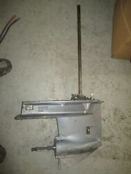Yamaha 40hp 2 Stroke Outboard Lower Unit With 20 Shaft