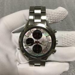 Tag Heuer Carrera Cv201p Wristwatch Chronograph Limited 3000 From Japan F/s