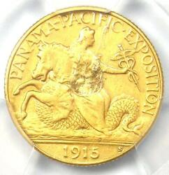 1915-s Panama Pacific Gold Quarter Eagle 2.50 Coin - Certified Pcgs Xf Details