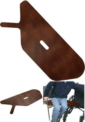 Transfer Board Designed For Wheelchair Users Durable Birch Wood With Dark Stain