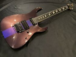 Caparison Dellinger Prominence Purple With Gig Case Fedex From Japan
