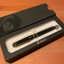Namiki Falcon Fine P60152 Fountain Pen Used Ink Cartridges Included F/s From Jpn