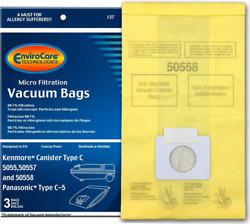 Envirocare Vacuum Bags For Kenmore Style C And Q Canisters - 5055, 50558