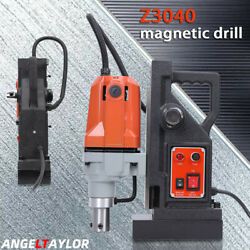 Md40 Magnetic Drill Press Boring Magnet Force 2700lbs 1-1/2 Us New