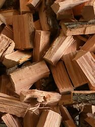 Oak Wood Chunks For Smoking Bbq Grilling Cooking Smoker Free Shipping 5 + Lbs