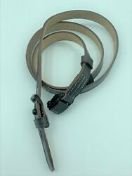 Wwii German K98 98k Rifle Leather Rifle Carry Sling Brown Mauser 8mm