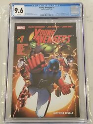 Young Avengers 1 Marvel Legends Not For Resale Edition Variant Cgc 9.6 Vhtf
