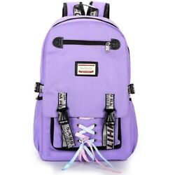 Large backpacks for teenage girls usb with lock Anti theft big High School youth $26.59