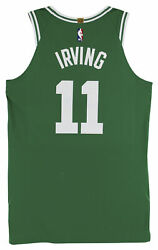 Celtics Kyrie Irving 2019 Game Used Green Nike Jersey Vs Indiana Pacers Fanatics