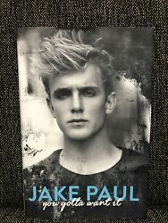 Jake Paul You Gotta Want It Book Memoir Autobiography First Edition Hardcover
