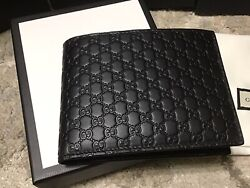 Mens Black Leather Wallet With Id Window Slot Sold Out Limited Edition