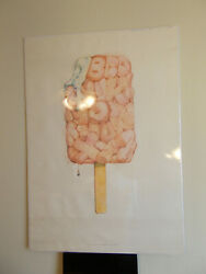 Claes Oldenburg, Alphabet In The Form Of 'good Humor Bar' Exhibition Poster
