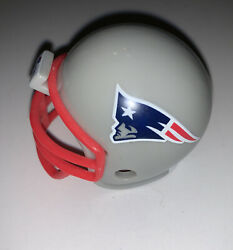New England Patriots Nfl Mighty Racers Mini Helmet 2-1/4 Front To Back