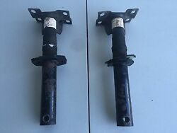 1988-1993 Volvo 240 Oem Front Left And Right Bumper Bracket Shocks Used